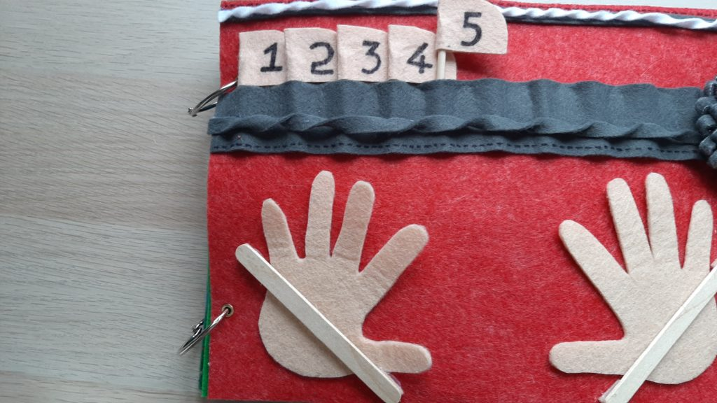 Counting on fingers page