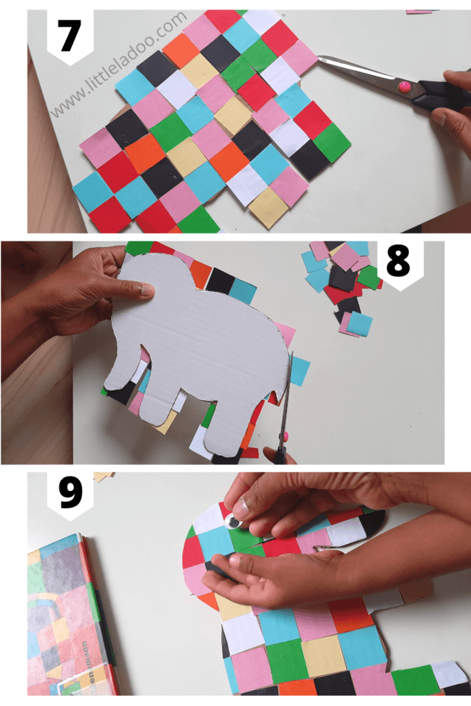 elmer craft step by step pictures 3