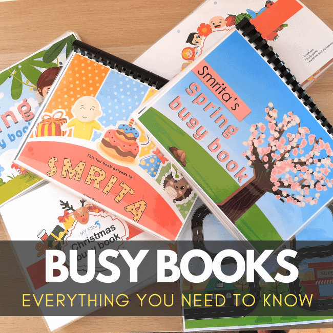 all busy books we have