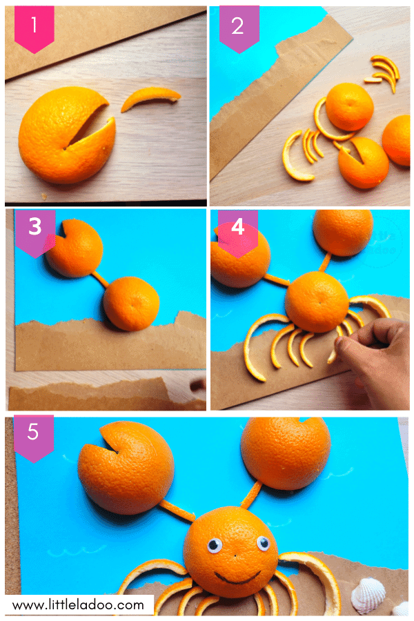 carb craft step by step instruction