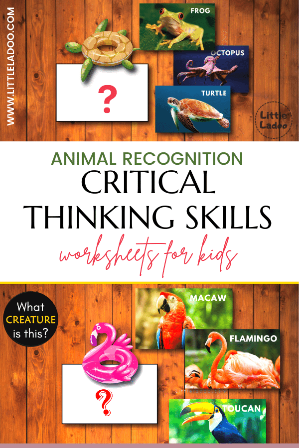 recognize the animal- critical thinking