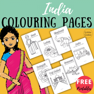india colouring pages for kids