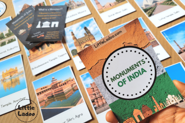 Monuments of India Flashcards