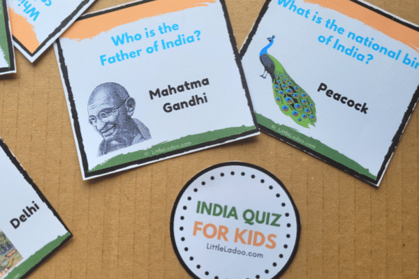 India questions for kids