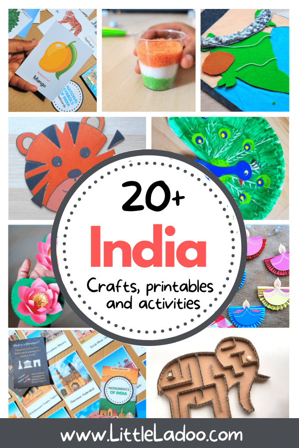 India theme activities for kids