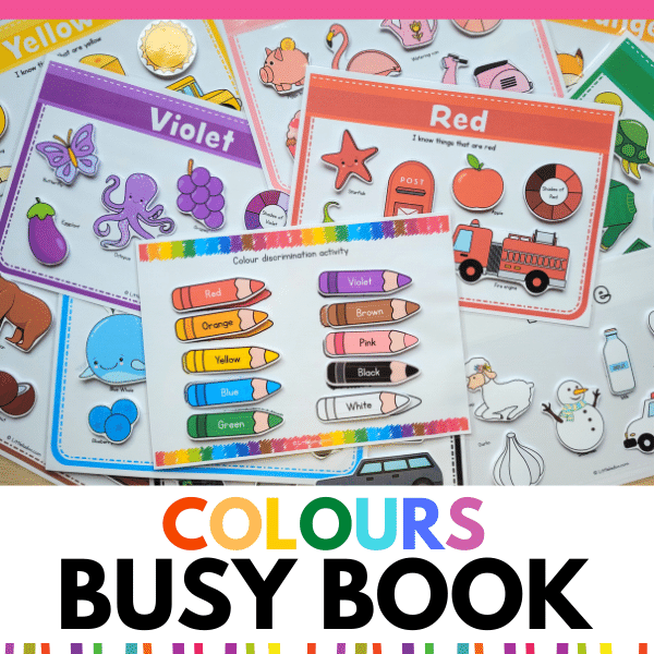 colours busy book